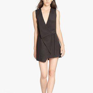 HH Origami Fold Silk Viscose Dress, estimated sz L